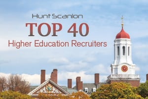 Higher Ed Recruiter Top 40 Featured Image